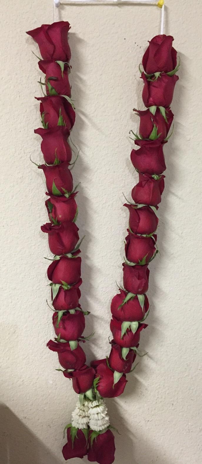 Wedding Roses Garland